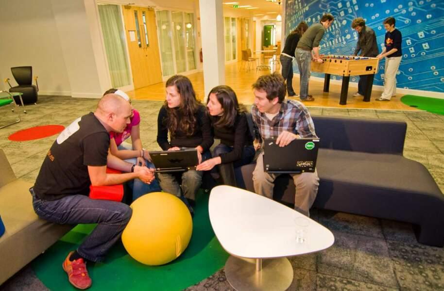 Des réunions comme dans les locaux irlandais de Google, on en voudrait tous les jours !
