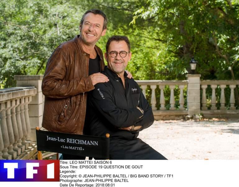 Le chef Michel Sarran a déserté ses cuisines le temps d'un épisode de Léo Mattéi sur TF1
