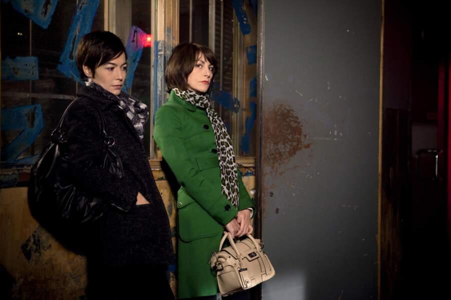 Lio, et sa petite amie dans la série