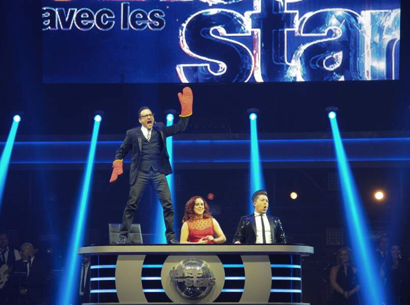 Jean-Marc Généreux et Chris Marques déchaînés à la première de la tournée Danse avec les stars à Bercy