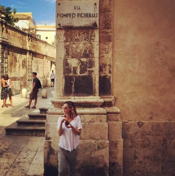 ... où Ellen Pompeo a trouvé une rue à son nom ! La classe.