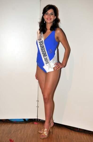 Sandra Salazar, Miss Prestige Bourgogne 2013