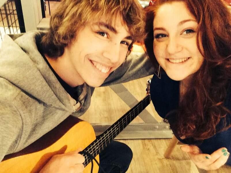 Répétition musicale pour Flo et Juliette Moraine