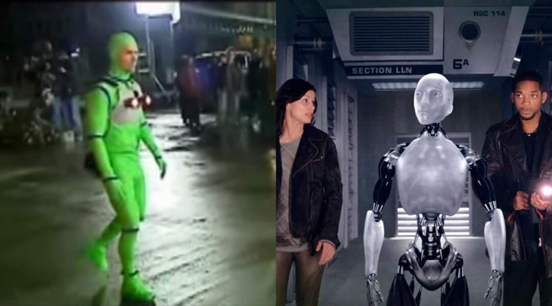 Alan Tudyk a donné sa voix et sa gestuelle au robot NS-5 Sonny