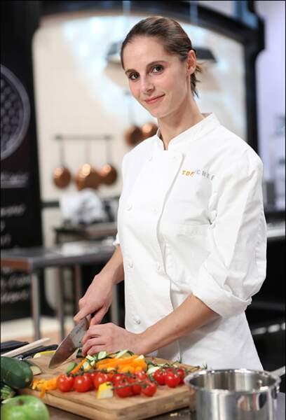 Vanessa Robuschi, 32 ans, Marseille, Chef de son restaurant Question de Goût