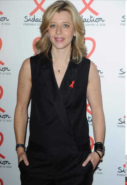 Wendy Bouchard présente à la soirée de lancement du Sidaction