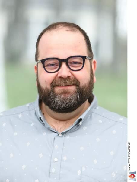 Stéphane, 46 ans, est psychologue