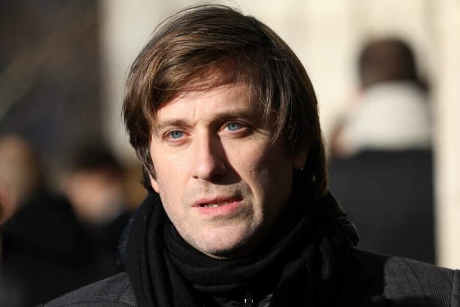 Le chanteur et compositeur Thomas Dutronc.