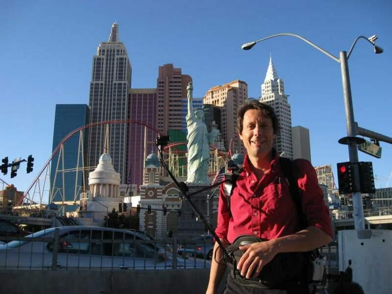 Et oui, Antoine a fait un petit détour par Las Vegas, la capitale du jeu. Le chanceux !