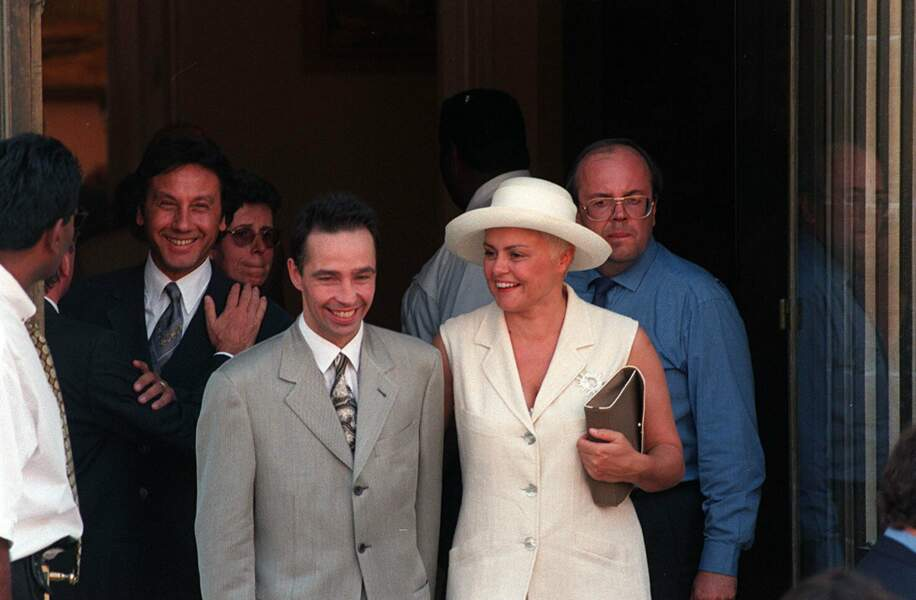 Parmi les invités au mariage, l'autre complice de Pierre Palmade, Muriel Robin
