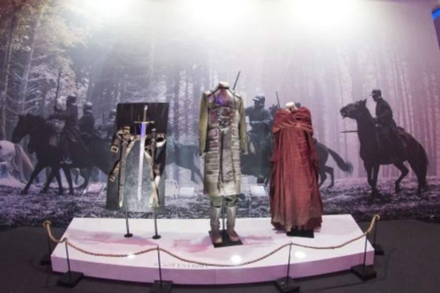 Les costumes de personnages emblématiques de la série