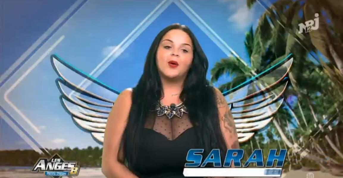 ... de la pulpeuse Sarah Fraisou !