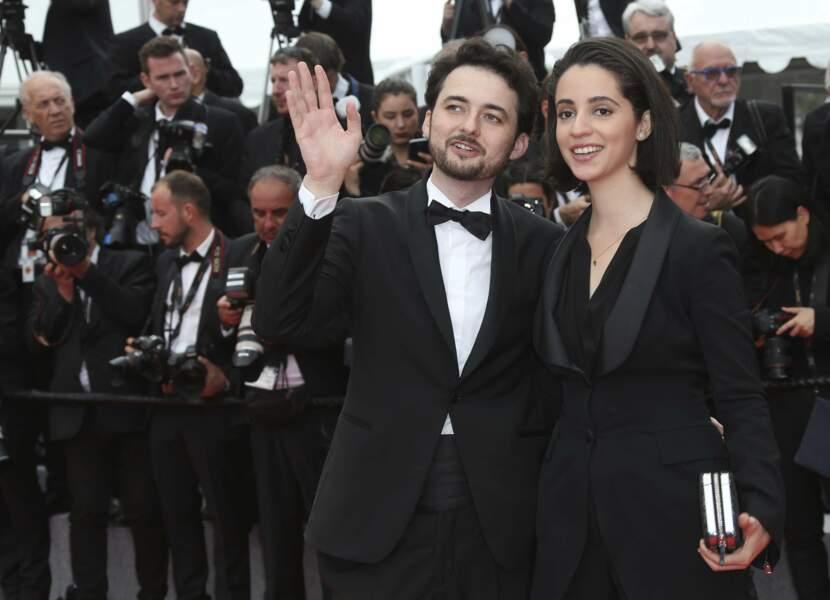 Le réalisateur A.B Shawky et sa productrice Dina Enam ont fermé la marche