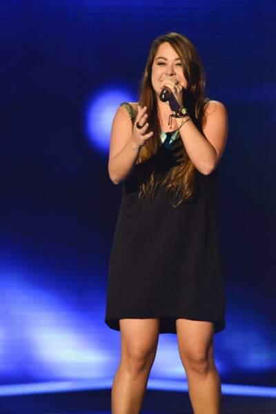 Sharon Laloum, 25 ans, talent de l'équipe de Mika