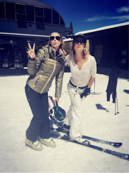Kiss kiss au ski