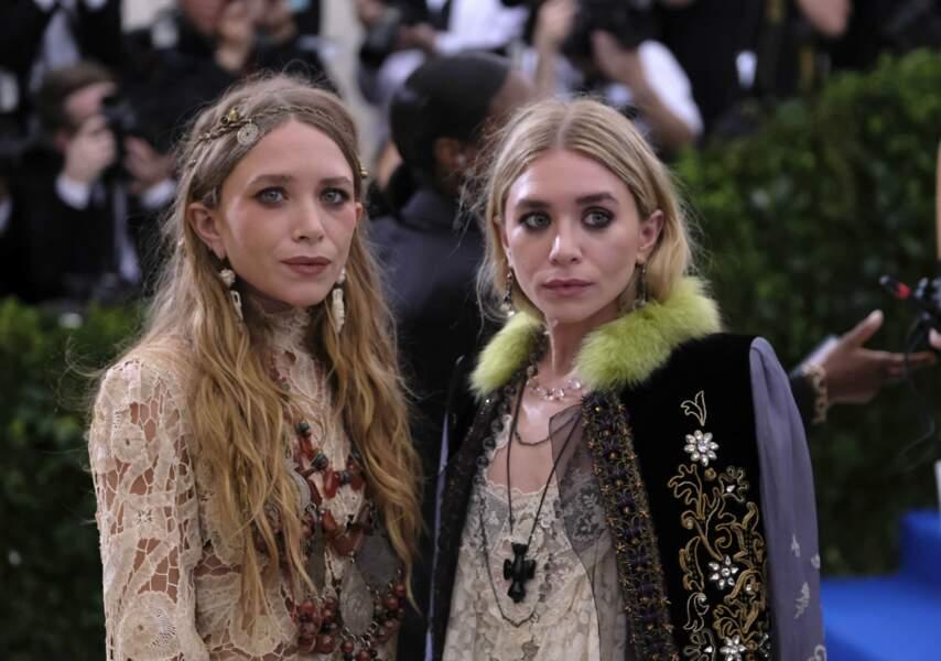Les sœurs Olsen un brin flippantes.