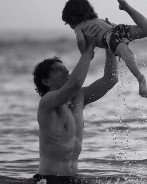 Ils ont eux deux enfants ensemble : Aliocha et Roman