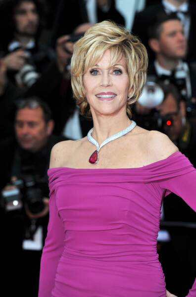 La rayonnante Jane Fonda
