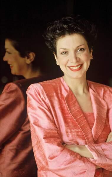 1989 : Catherine Laborde  débarque pour présenter la météo sur TF1...