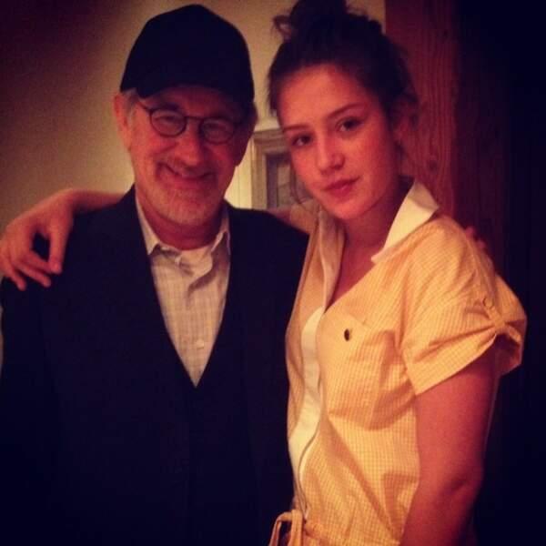 Sa tournée pour promouvoir le film lui a permis de rencontrer Steven Spielberg.