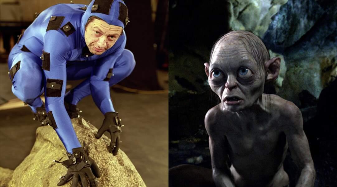 Andy Serkis en Gollum dans Bilbo le Hobbit : un voyage inattendu (2012) de Peter Jackson