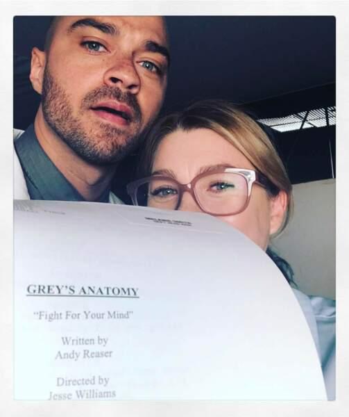 Jesse Williams est fier de réaliser un épisode de la série et il peut compter sur le soutien de son amie