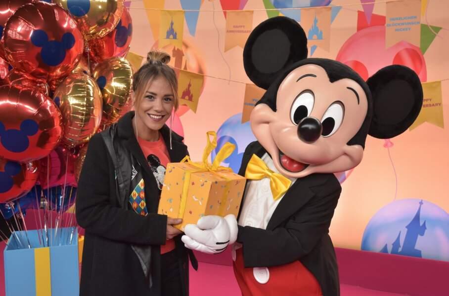 La comédienne Alice Belaidi a fait un gros cadeau à Mickey