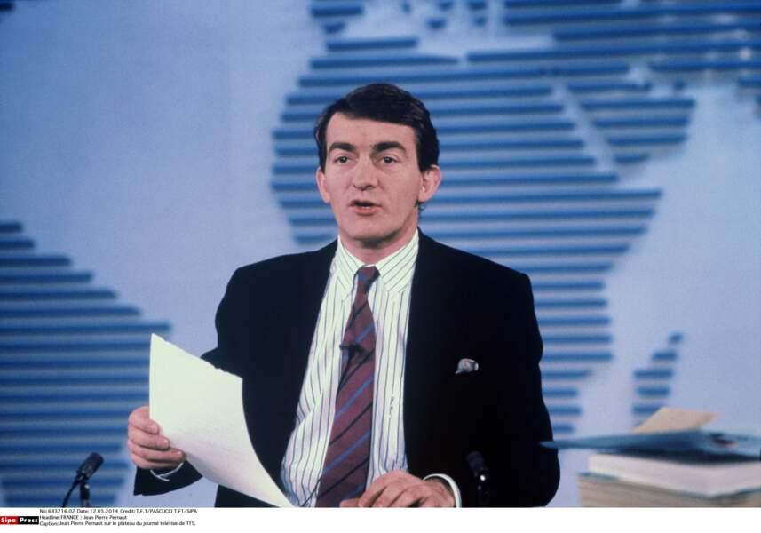 En 1988, Jean Pierre Pernaut succède à Yves Mourousi à la présentation du 13h de TF1