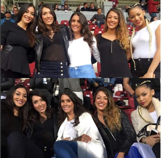 Sidonie et ses copines de l'équipe de France