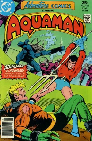 Parce que les super-héros ne sont pas que dans les airs, Aquaman va faire respecter l'ordre sous la mer.