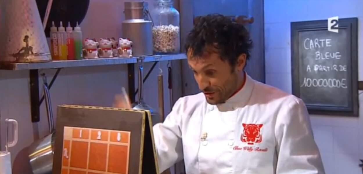 Il faut dire qu'il est opposé à Willy Rovelli, le cuisinier dingo du Fort