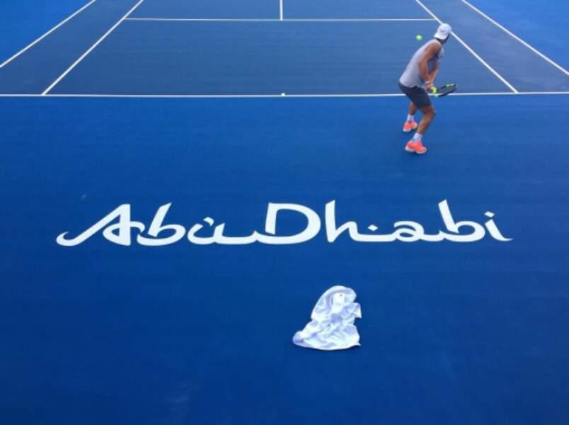 Rafael Nadal a adressé ses voeux depuis Abu Dhabi