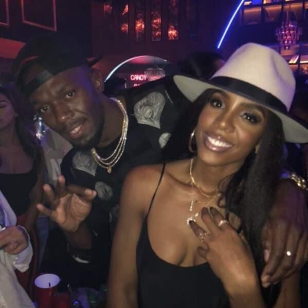 Usain Bolt a posé en soirée avec une ancienne Destiny's Child.