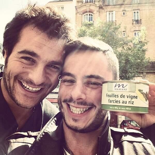 Repas équilibré pour Amir et Maximilien Philippe