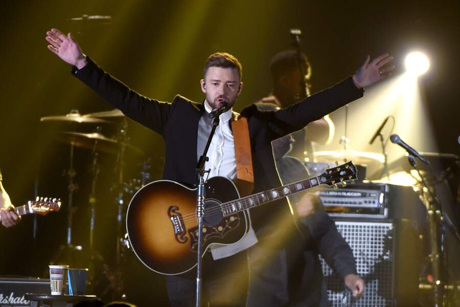 Mister Justin Timberlake, lui aussi devenu une star mondiale de la chanson et du ciné !