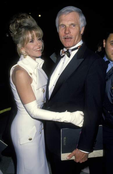 Mari numéro 3 ! En 1991, Jane Fonda épouse Ted Turner, un magnat de la presse américaine