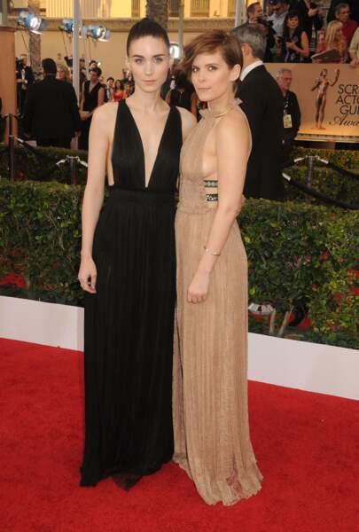 On a vu, entre autres la première dans le Millenium de Fincher, l'autre dans House of Cards : Rooney et Kate Mara.