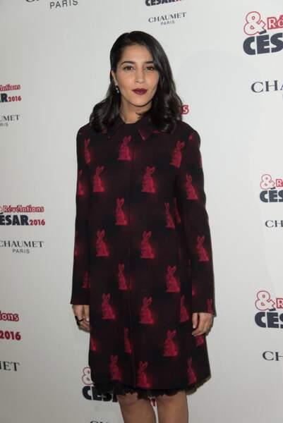 Leila Bekhti fait de la concurrence à la robe de Bérénice Bejo
