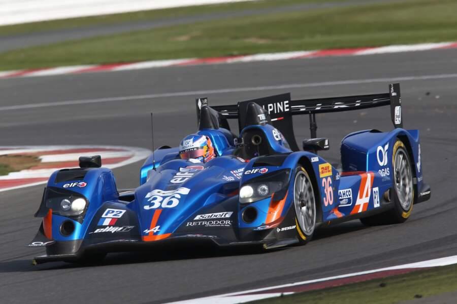 Alpine revient pour la 3ème année consécutive au Mans (en catégorie LMP2) avec cette jolie A450b.