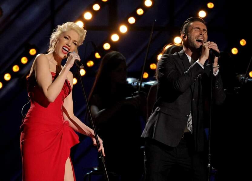 Gwen Stefani et Adam Levine ont assuré le show !