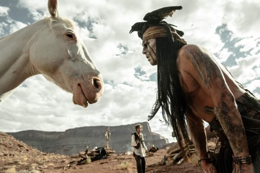 Johnny a sympathisé avec un cheval durant le tournage a priori