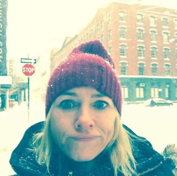 La neige, elle aime moins...