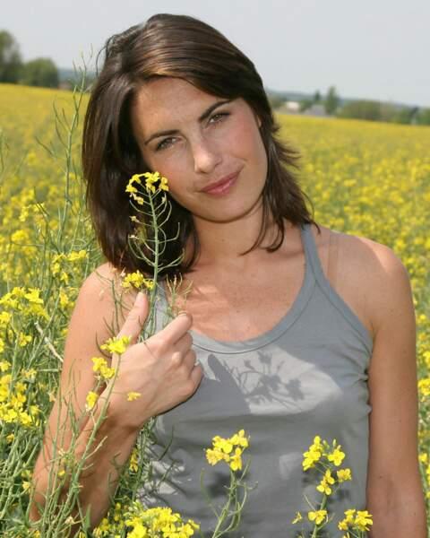 Alessandra Sublet à l'époque de L'amour est dans le pré sur M6 (2007)