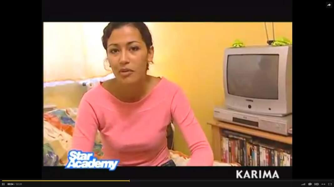 Elle a fait sa première télé il y a 10 ans, dans la saison 4 de Star Academy