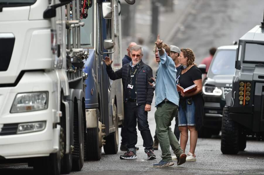 Maître Steven Spielberg à Birmingham sur le tournage de Ready Player One, son prochain film SF
