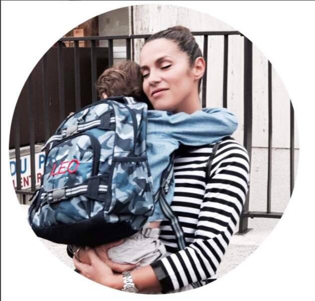 Difficile la séparation ? On dirait bien que oui pour Elisa Tovati et son fils Leo Saussez