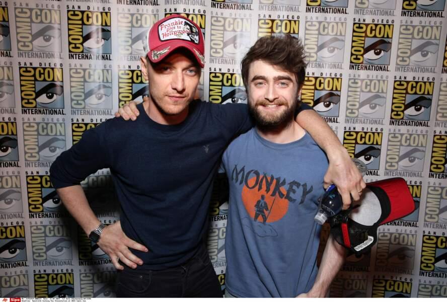 James McAvoy et Daniel Radcliffe, duo du film Victor Frankenstein