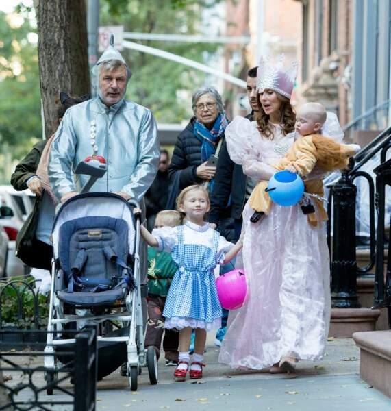 """L'acteur a fait """"Trick or treat"""" en famille à New York"""