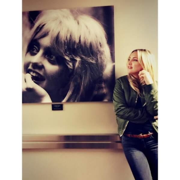 Et Kate Hudson a fait un joli clin d'oeil à sa maman, Goldie Hawn.