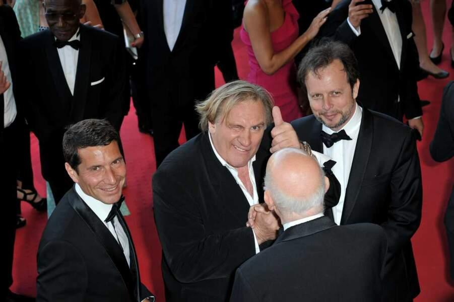 Au top, Gérard Depardieu !